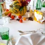 Herbstliche Tafel-Dekoration